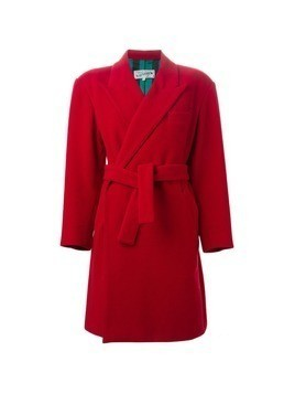 Jean Paul Gaultier Vintage belted double breasted coat - Red