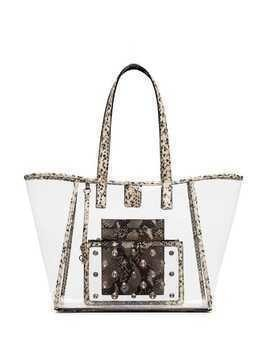 Sophia Webster Dina transparent tote - Snake