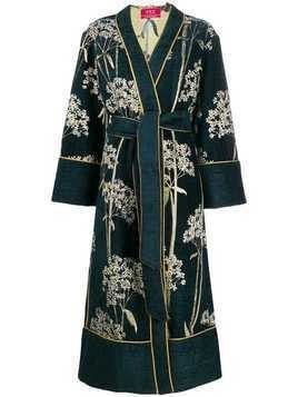 F.R.S For Restless Sleepers kimono coat - Blue