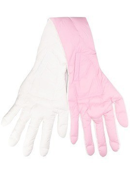 Chen Peng oversized hand scarf - PINK