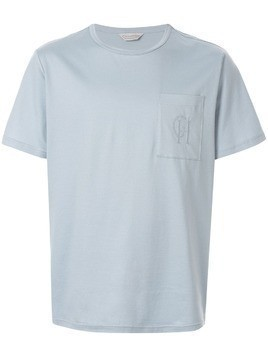 Gieves & Hawkes chest pocket T-shirt - Blue