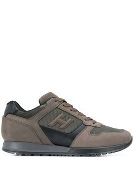 Hogan H3D low-top sneakers - Brown