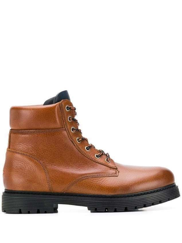 Tommy Jeans Lace-Up Outdoor boots - Brown