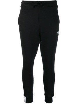 Adidas slim leg track pants - Black