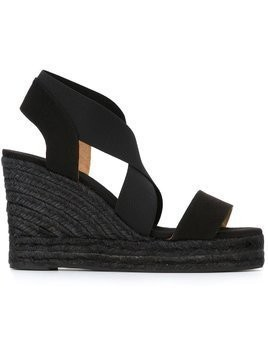 Castañer 'Bernard' wedge sandals - Black