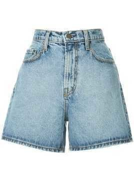 Nobody Denim Stevie high rise shorts - Blue