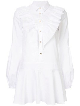 Macgraw Edie dropped waist dress - White