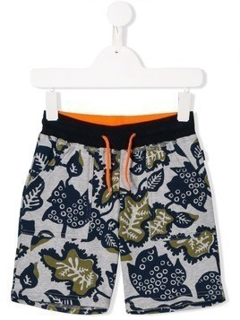 Little Marc Jacobs drawstring-waist shorts - Blue