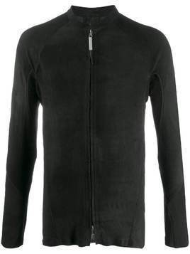 Isaac Sellam Experience rear zip stretch leather jacket - Black