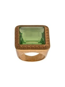 Versace square embellished ring - GOLD