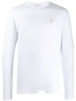 Versace Collection long-sleeved T-shirt - White