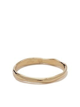 Wouters & Hendrix Gold 18kt gold organic band ring - Yellow Gold
