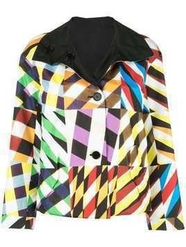 Akris Punto reversible bomber jacket - Multicolour