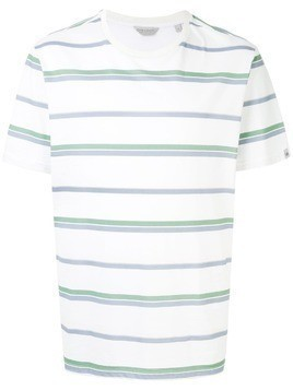 Gieves & Hawkes striped T-shirt - White