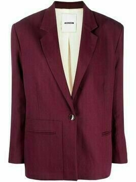 Aeron Lead single-breasted blazer - Red