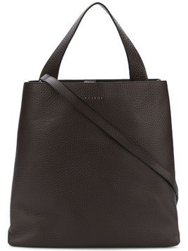 Orciani large soft tote - Brown