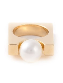 Chloé 'Darcey Square' ring - Metallic