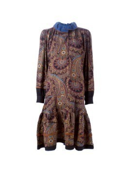 Kenzo Vintage paisley print dress - Multicolour