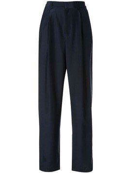 Jean Paul Knott high-rise straight trousers - Blue