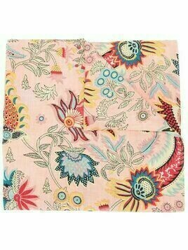 Rachel Comey Klyde Tapestry floral-print scarf - Pink