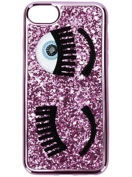 Chiara Ferragni Flirting iPhone 6/6s case - Pink & Purple