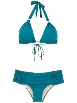 Brigitte ruched bikini set - Green
