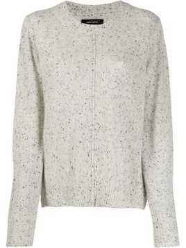 Isabel Marant cashmere Chinn sweater - Grey