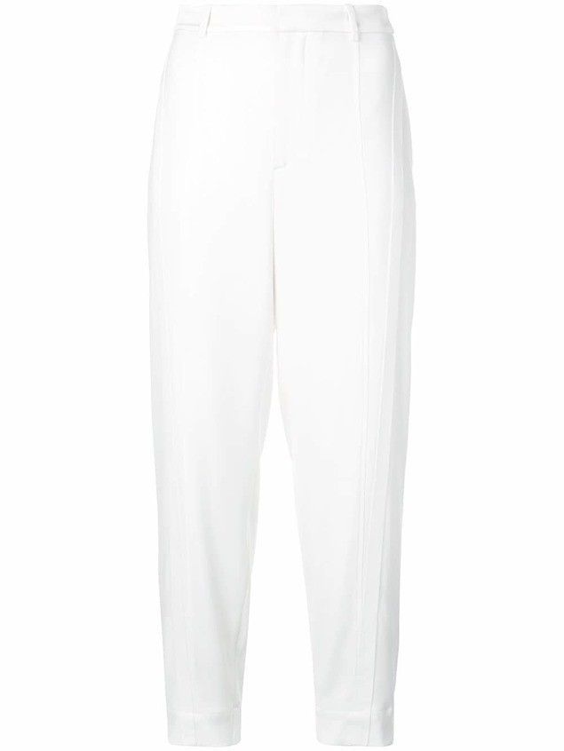 Jason Wu slim-fit tailored trousers - White