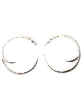 Shaun Leane cat claw hoop earrings - Metallic