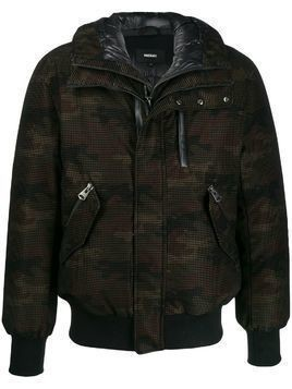 Mackage camouflage print padded jacket