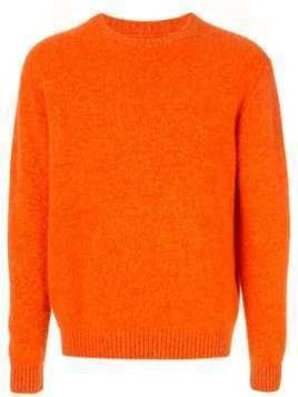 Coohem crewneck cashmere jumper - ORANGE