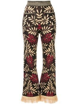 Alice McCall Shadow On The Sun flared trousers - Black