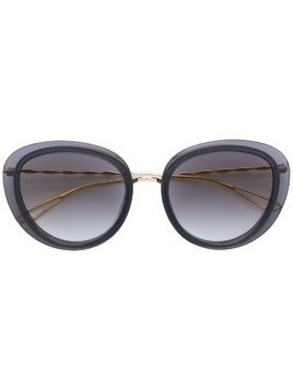 Elie Saab oversized sunglasses - Black