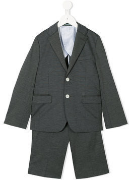 Miki House two piece suit - Grey