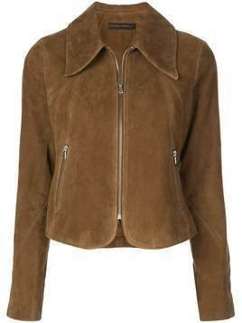 Citizens Of Humanity Iona cropped jacket - Brown