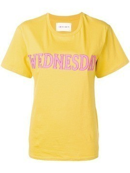 "Alberta Ferretti ""Wednesday"" T-shirt - Yellow"