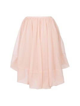 Jil Sander layered skirt - Pink&Purple