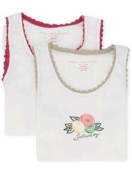 Stella McCartney Kids Weekend vest set - White