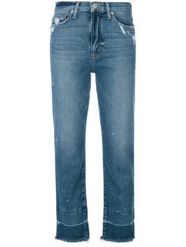 Hudson distressed finish jeans - Blue