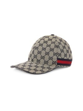 Gucci GG canvas baseball hat - Blue