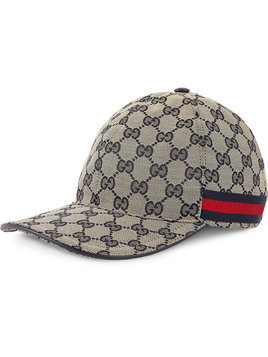 Gucci - GG canvas baseball hat - Herren - Cotton/Polyamide/Polyester - L - Blue