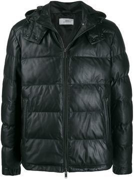 Desa 1972 hooded puffer jacket - Black