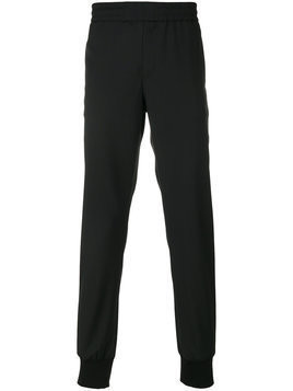 Ps By Paul Smith - elasticated trousers - Herren - Wool - 36 - Black