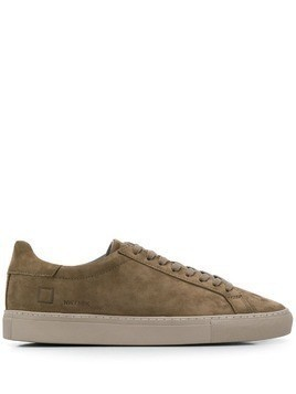 D.A.T.E. flat lace-up sneakers - Green