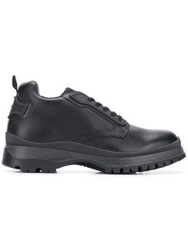 Prada pebbled sneakers - Black