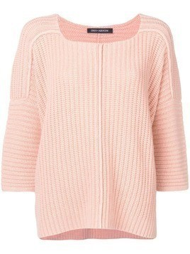 Iris Von Arnim ribbed knit jumper - Neutrals