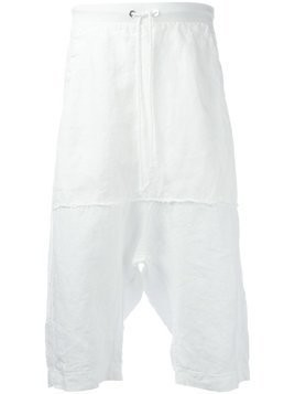 Lost & Found Rooms drawstring shorts - White