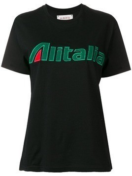 Alberta Ferretti embroidered T-shirt - Black
