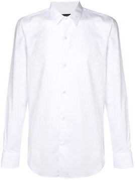 Ann Demeulemeester long-sleeve fitted shirt - White
