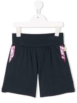 The Marc Jacobs Kids contrast-trim shorts - Blue